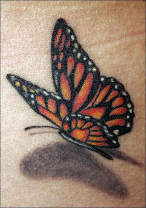 3d tattoos on wrist monarch wrist realistic 3d butterfly tattoos