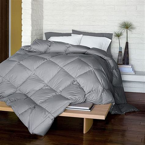 Gray Down Comforter For The Home Pinterest