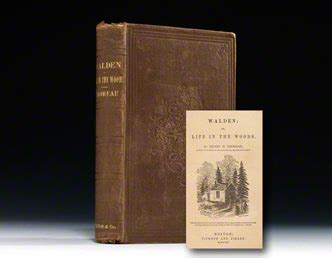 original walden book walden edition henry david thoreau bauman books