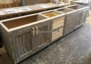 Kitchen Cabinets Made Out Of Pallets Vintage Style Repurposed Wood Pallets Kitchen Wood Pallet Furniture