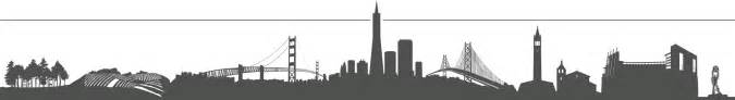 san francisco skyline silhouette bowl 50