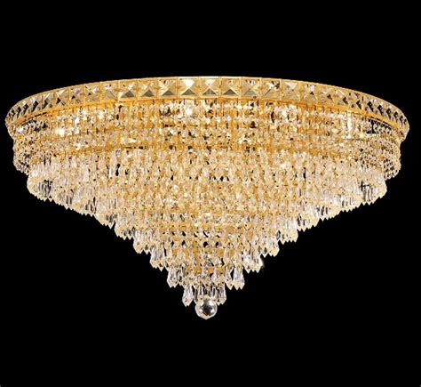 large flush mount ceiling light tranquil collection 30 dia extra large crystal flush