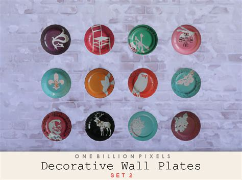 decorative plates wall decorative wall plates one billion pixels
