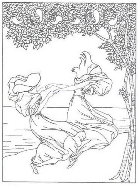 Free Printable Art Nouveau And Art Deco Patterns Collection Nouveau Coloring Pages