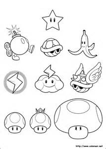 free coloring pages browser super mario