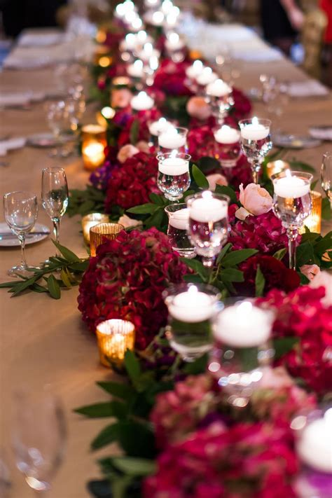 Floral Wedding Decorations by Best 25 Burgundy Floral Centerpieces Ideas On