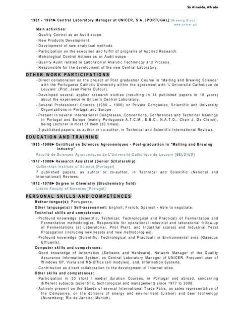 cv resume f b pro