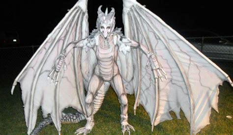 albino dragon diy halloween costume inhabitat green