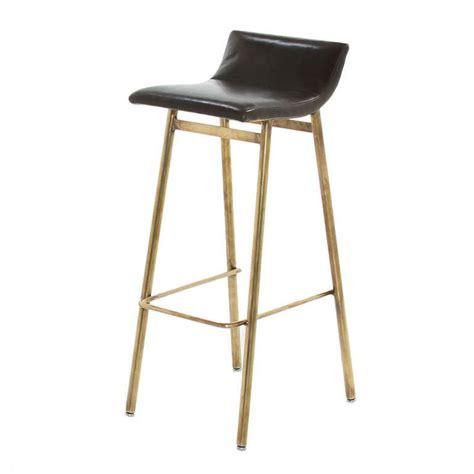 modern bar stools los angeles brass gachot bar stool by thomas hayes studio studios