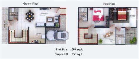 duplex row house floor plans floor plans