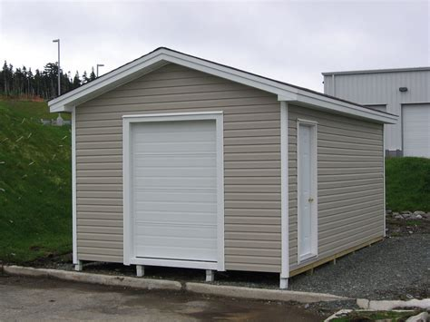 10 X 16 Storage Sheds Overhead Garage Wood Storage Autos Small Overhead Doors