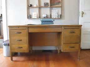vintage wood desk school desk vintage wood