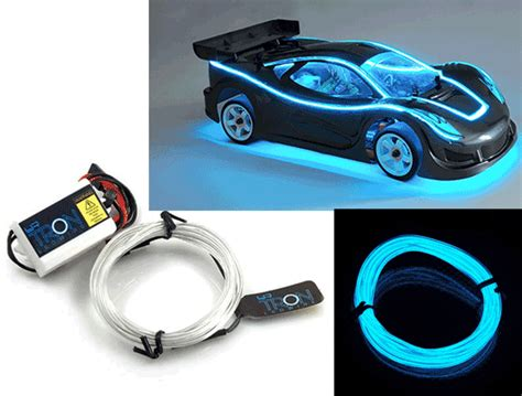 Set Lk Outta Here yeah racing led wire light kit set light blue