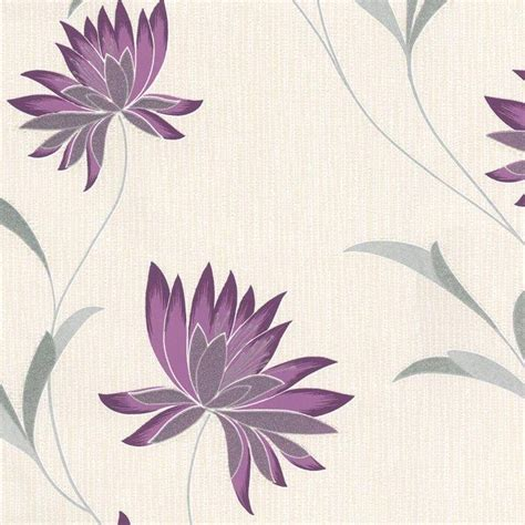 belgravia decor zoe plum wallpaper purple grey cream