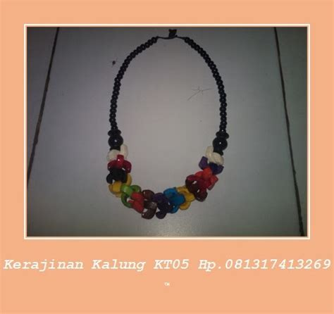 Trendy Gelang Tasbih kalung trendi muda mudi kerajinan handicraft kalung