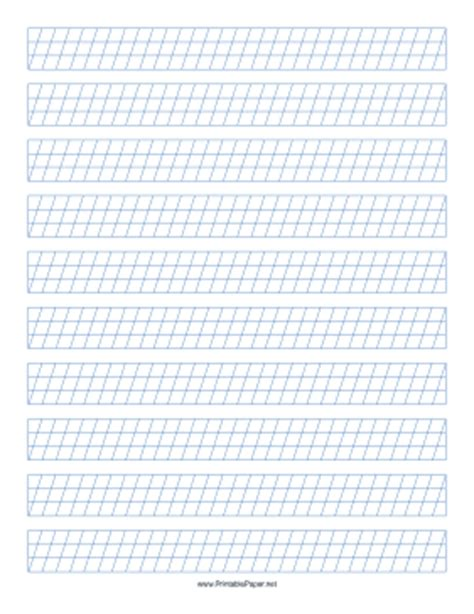calligraphy writing paper printable calligraphy guide paper