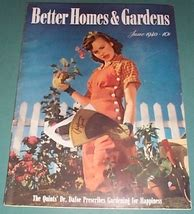 vintage june 1940 issue of better homes and gardens