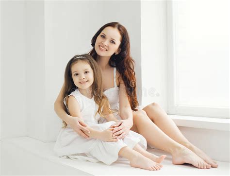 Amazing Mother Daughter Home Plans #2: Beautiful-mother-daughter-home-white-room-portrait-53901490.jpg