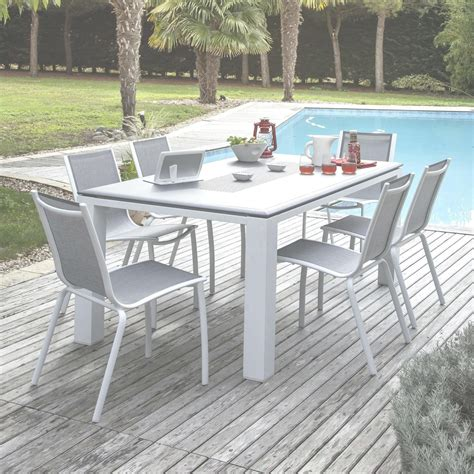 table metal jardin table jardin metal promo table de jardin aluminium salon