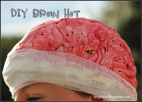 make your own hats classic reprint books tales of a trophy diy brain cap