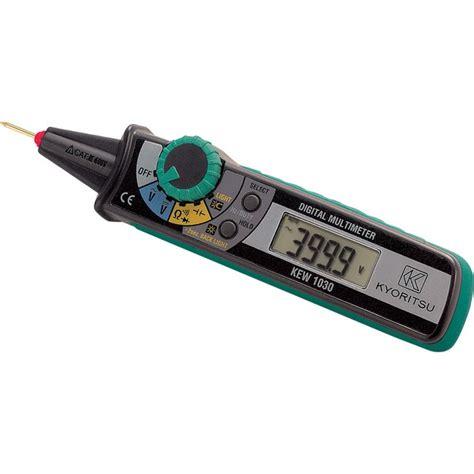 Multimeter Kyoritsu kyoritsu 1030ky multimeter tester pen ac dc continuity