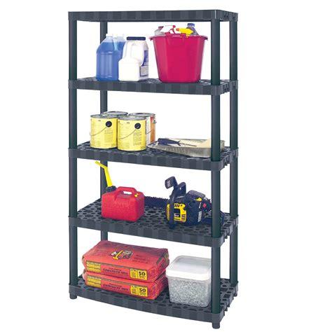 plano interlocking plastic shelving shelves