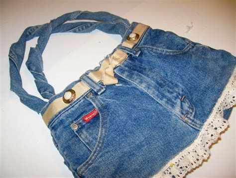 Sling Bag Levis Original Small denim do denim purse with ruffle lace accent http