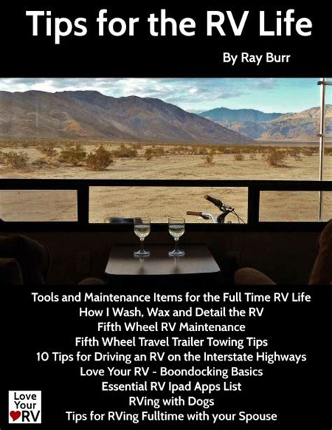 rv necessities for timers books your rv tips for the rv ebook get it now for
