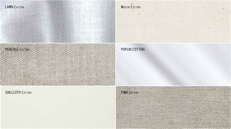 different types of fabrics explained different types of cotton used in textiles