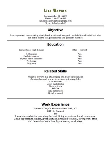 Resume Template 15 Year by Resume Exles 15 Year Resume Exles