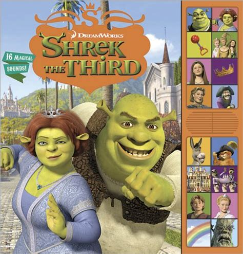 shrek picture book shrek the third collectibles