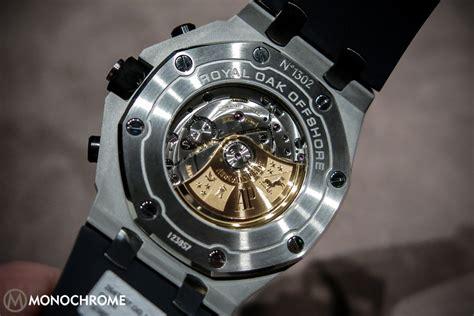 sihh 2014 audemars piguet reveals 6 updated versions of the royal oak offshore chronograph