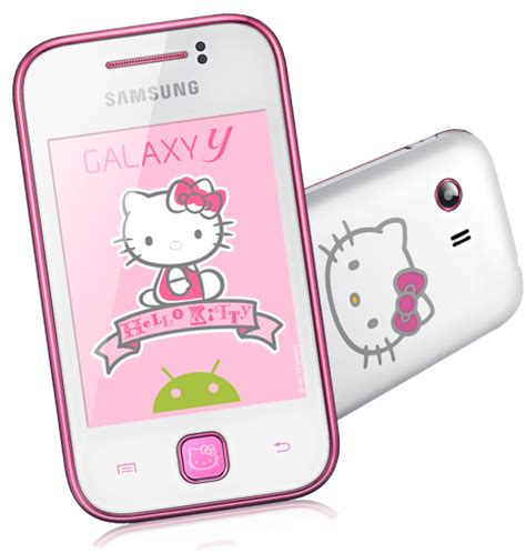 hello kitty wallpaper samsung galaxy young samsung announces the hello kitty edition of the galaxy y
