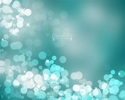 teal bokeh print christmas background print turquoise photo