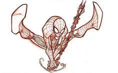 Kaos Fitness Sublim Venom 2 web slinger sketch spoderman comics