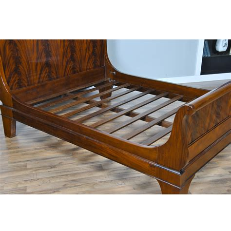 sleigh beds king size mahogany king size sleigh bed niagara furniture sleigh bed