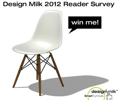 design milk submissions design milk 2012 reader survey win an eames chair from