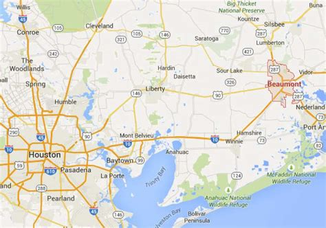 map of texas cities near houston the fastest growing cities around houston houston chronicle