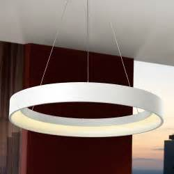 contemporary white ceiling light