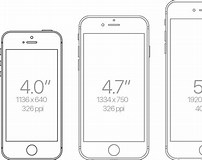 Image result for iPhone SE Actual Size
