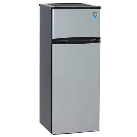 Apartment Size Fridge And Freezer Avanti 7 4 Cu Ft Apartment Size Top Freezer Refrigerator