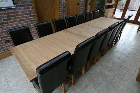 Large Dining Table Seats 10 12 14 16 People Huge Big