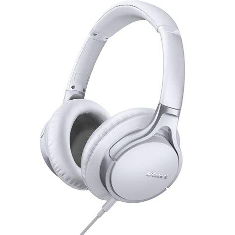 Headset Headphone Sony Mdr 10rc Headset Dj Sony sony mdr 10r headphones white mdr10r whi b h photo