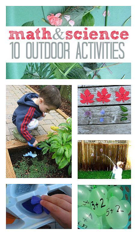 backyard science experiments for kids 171 best ead610 the outdoor classroom images on pinterest