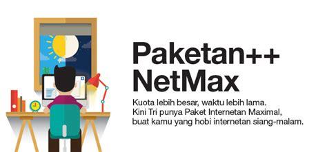 paketan bonus kuota 3 2018 internetan pagi malam bukan masalah dengan paketan netmax