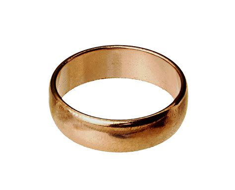 4 5 mm solid copper wedding band ring stacking rings