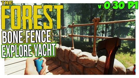yacht the forest bone fence explorable yacht the forest gameplay part 1