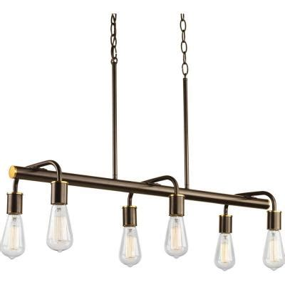 swing from the chandelier progress lighting swing collection 6 light antique bronze