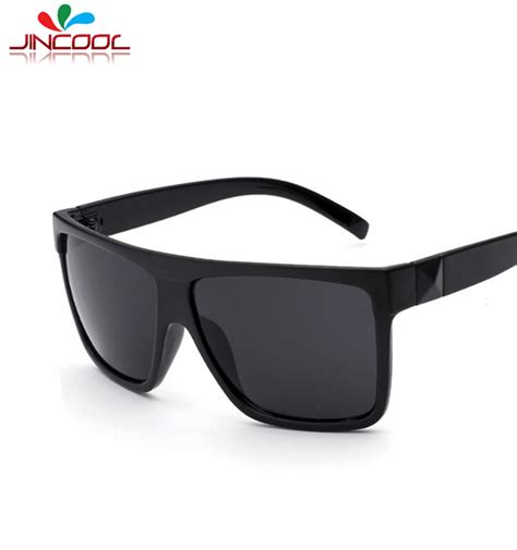 jincool 2016 big square frame glasses retro