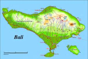 Bali On World Map by Amazing Indonesia Bali Map